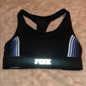 PINK ultimate gym Racerback sports bra